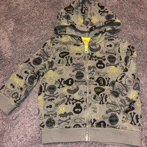 Boy's 18 months skeleton hoodie